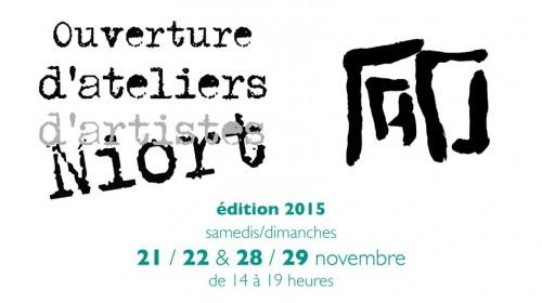 2015 affiche ouverture ateliers artistes